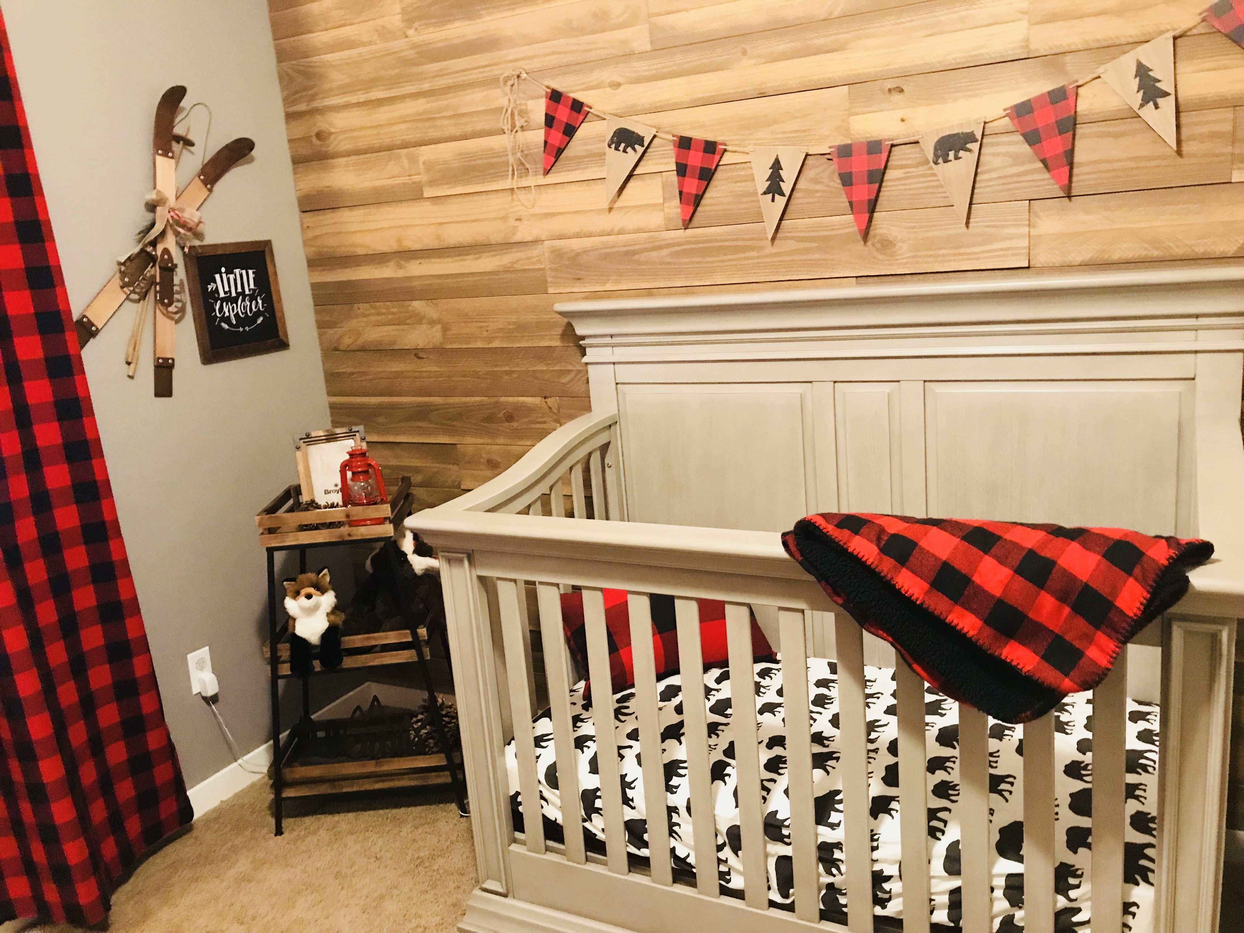 Buffalo Plaid Nursery