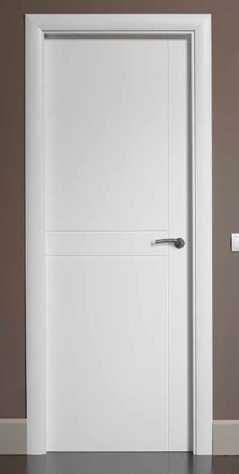 Puertas lacadas puerta lacada g529 puertas pinterest for Puertas paso blancas