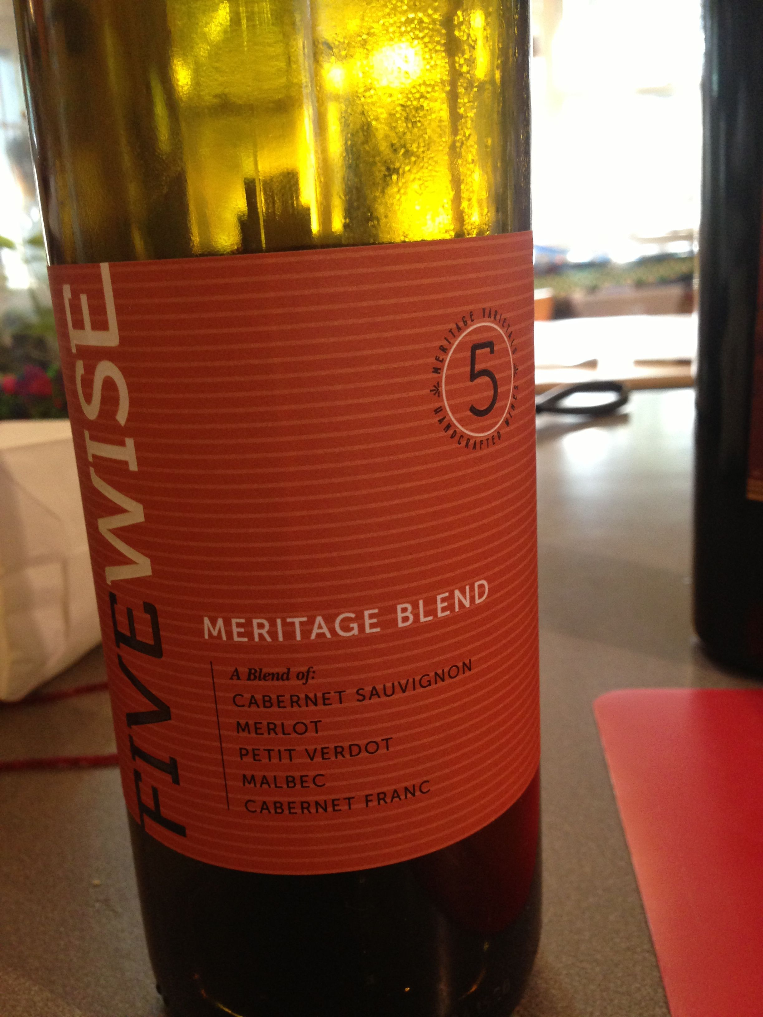 Five Wise Meritage Blend Rich And Full A Great Dinner Wine For The Price Malbec Cabernet Franc Cabernet Merlot