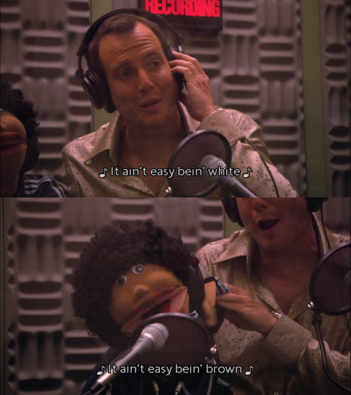 Image result for arrested development gob and franklin it ain't easy