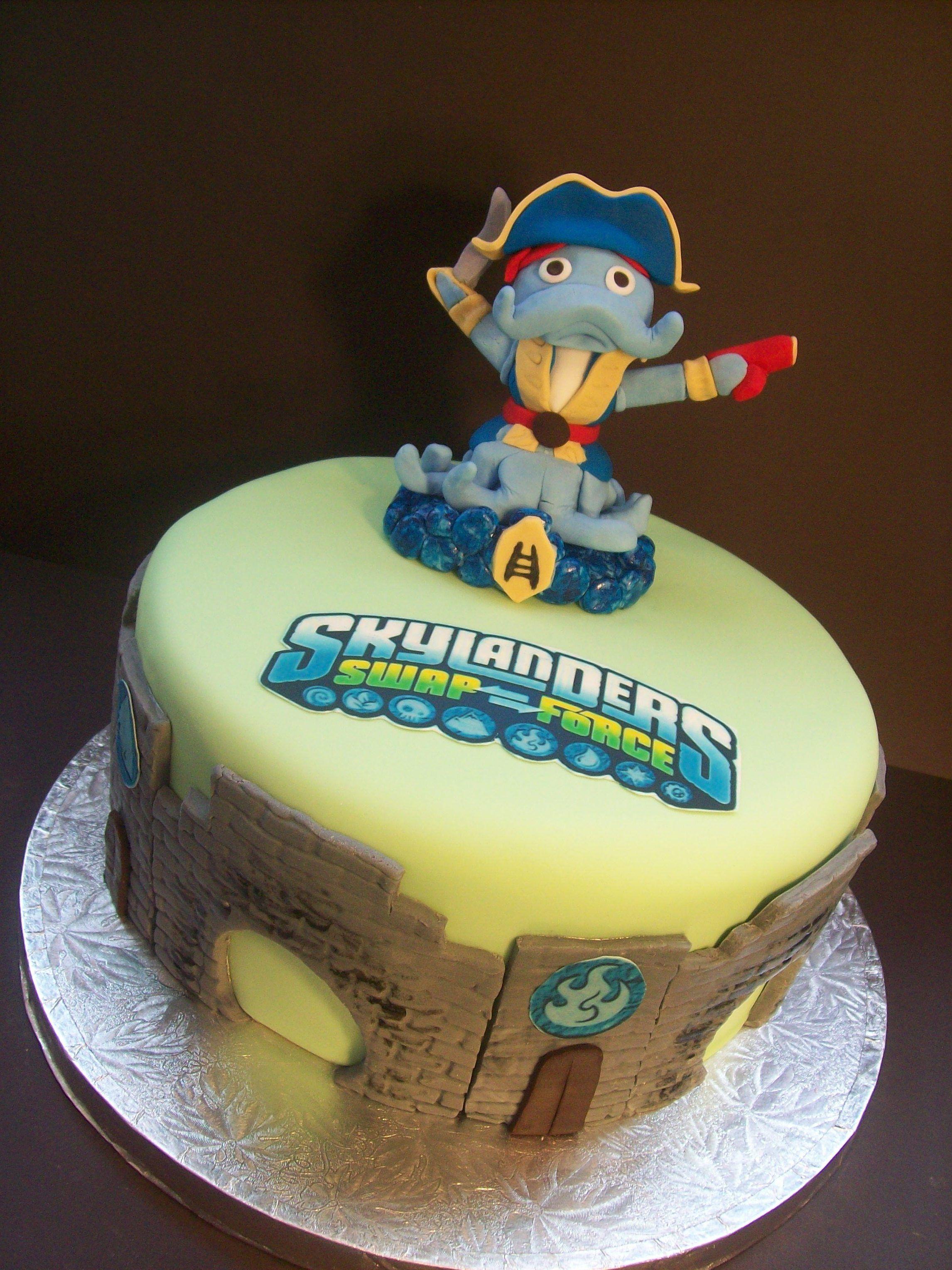 Skylanders cake pper liams favorite guy cute cakes skylanders cake pper biocorpaavc Images