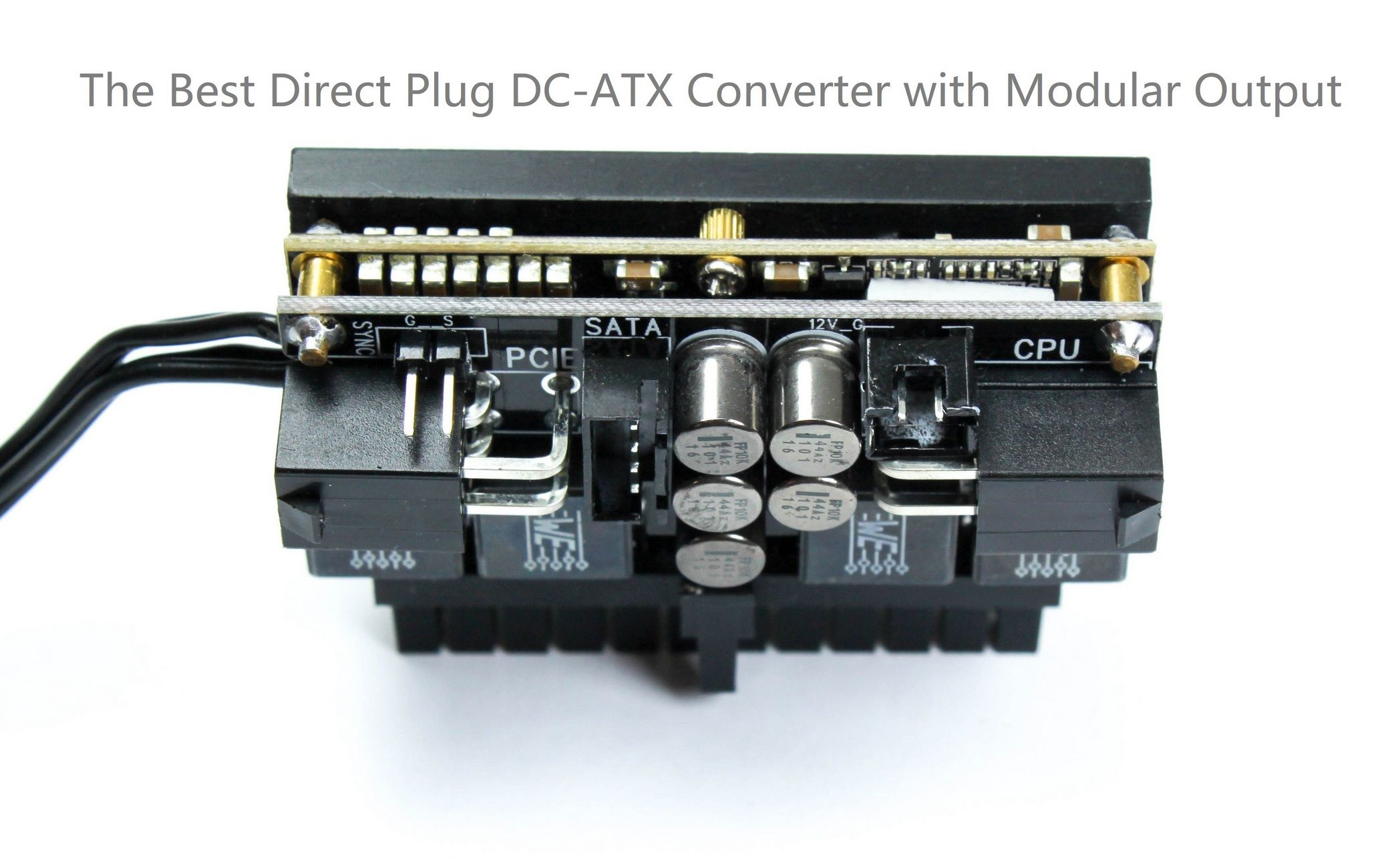 hight resolution of hdplex direct plug 160w dc atx converter