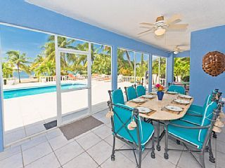 One of the best in Rum Point! Pool and sea views for days!Vacation Rental in Rum Point from @homeaway! #vacation #rental #travel #homeaway