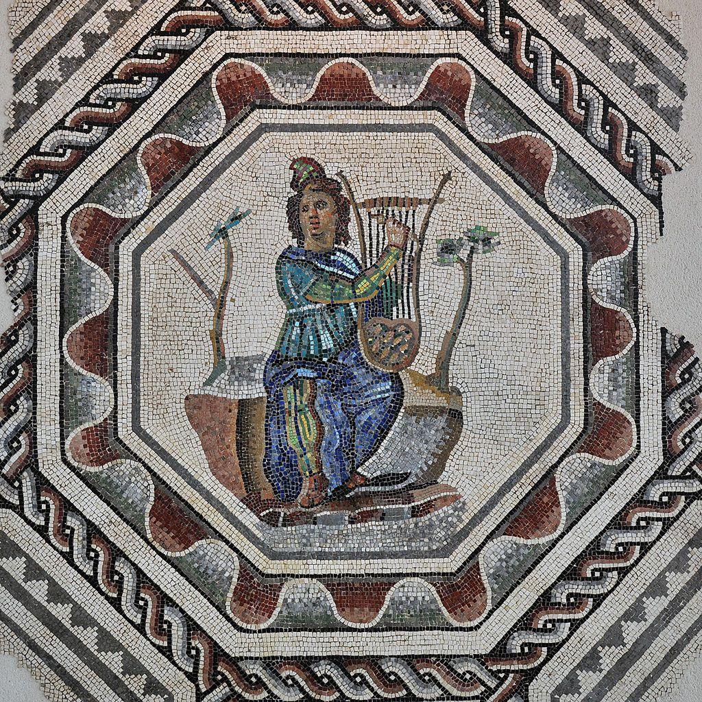 Mus e de st romain en gal maison d 39 orph e mosa que - Piscine st romain en gal ...