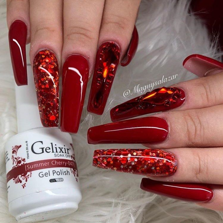 Pin by Ayesha Red Vixxen designs on nails | Ombre nails ...