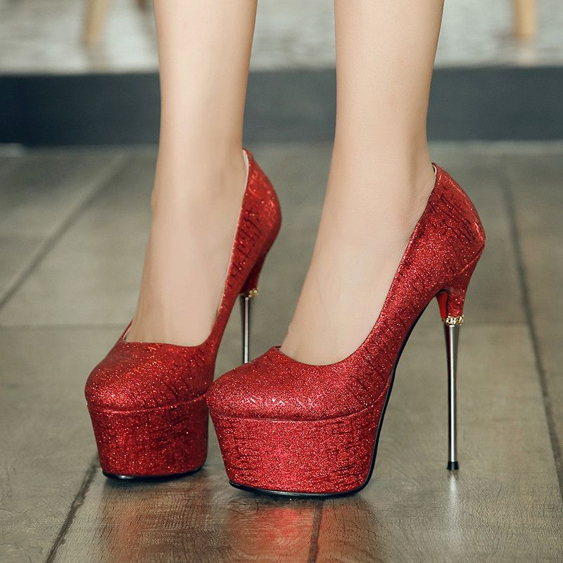 teens in platform heels