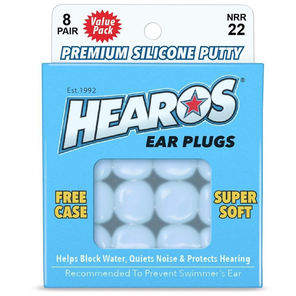 Ultra Soft Silicone Putty Earplugs 8 Pair Up Up Silicone Putty Ear Plugs Soft Silicone