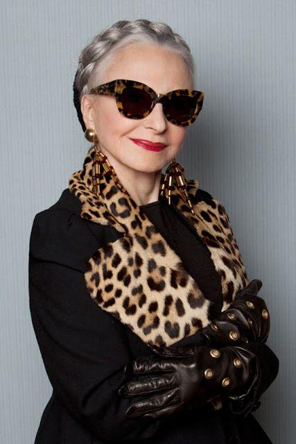 a642c249d Joyce Carpati (age 80) in sunglasses by Karen Walker 2013, New York, USA