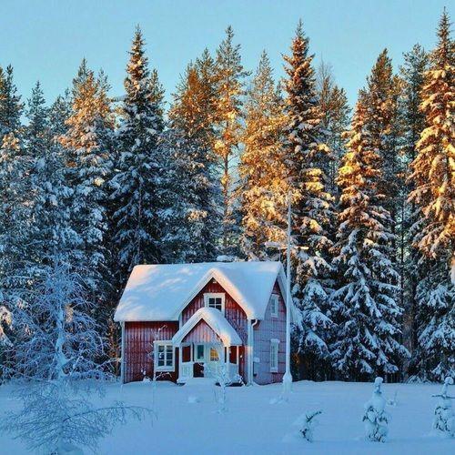 Imagem de house, christmas, and snow