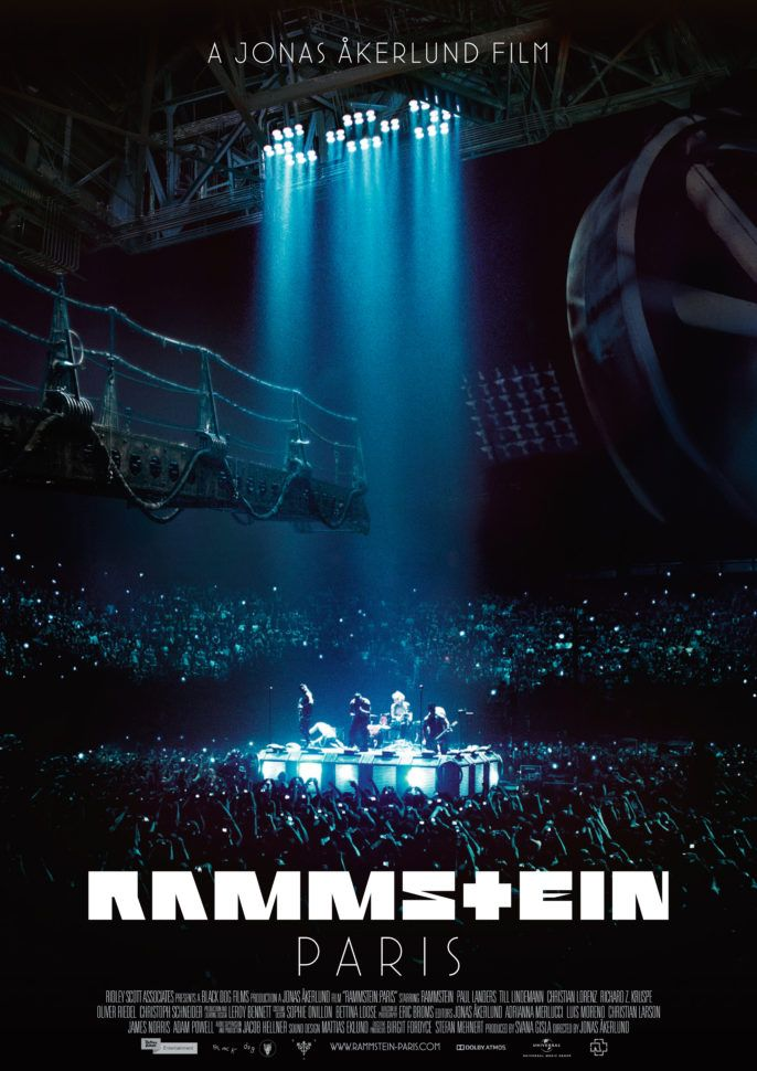 RAMMSTEIN: PARIS, ein Konzertfilm von Jonas Åkerlund, wird