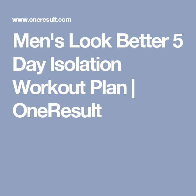 Free 5 Day Workout Plan To Build Muscle   anotherhackedlife com