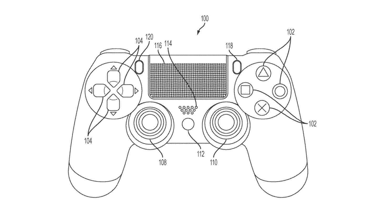 سوني تسجل براءة اختراع لذراع تحكم بلايستيشن مزودة بشاشة لمس Playstation Controller Newest Playstation Playstation