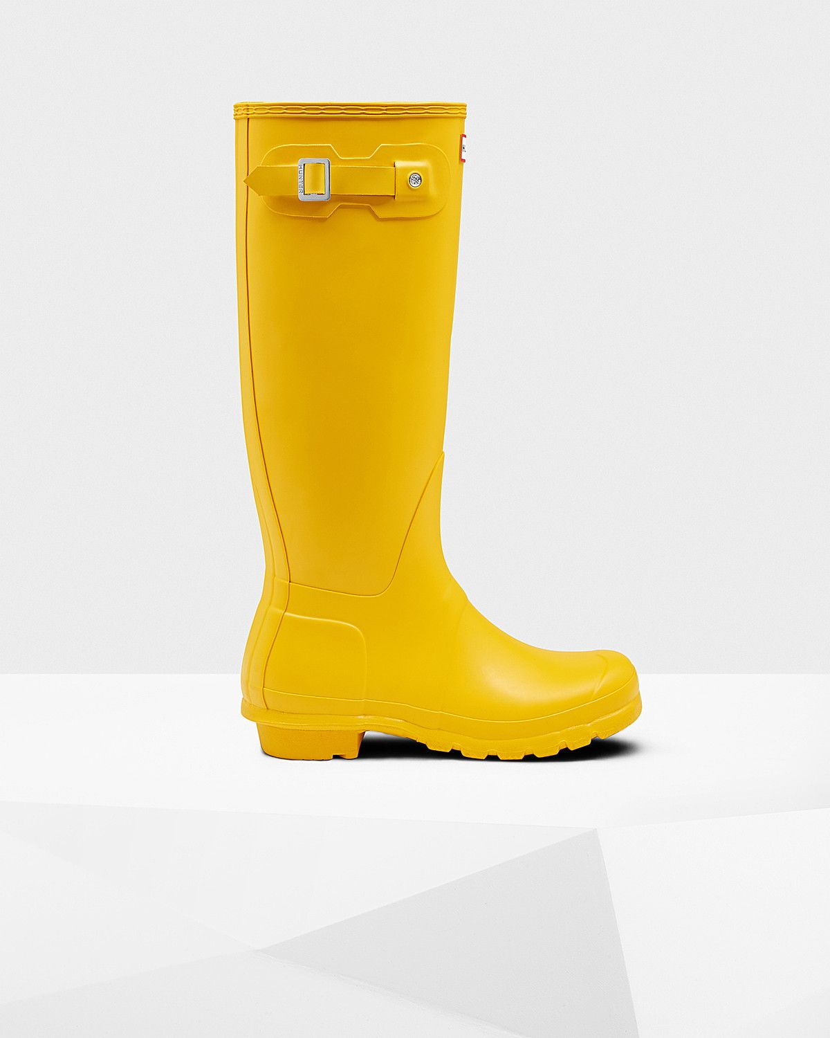 Womens Yellow Tall Rain Boots | Official US Hunter Boots Store