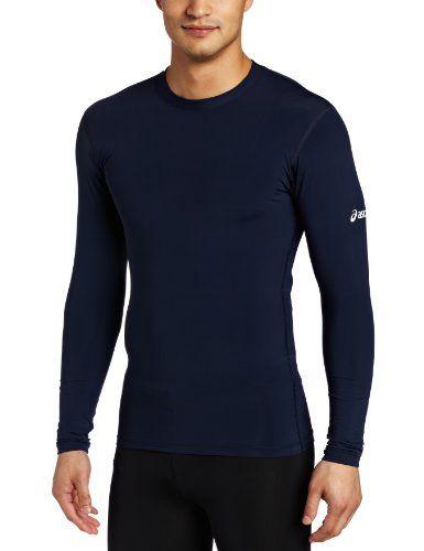 ASICS Mens Running Compression Long Sleeve $31.99 $35.99