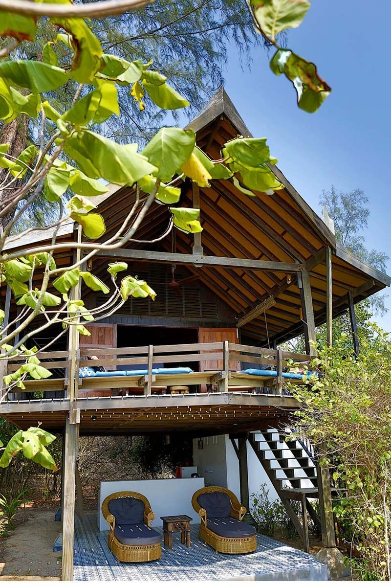 Golden Buddha Beach Resort Phang Nga Thailand Book Through I Escape Stunning Back To Nature Island Hideaway With Stilted Wooden Houses