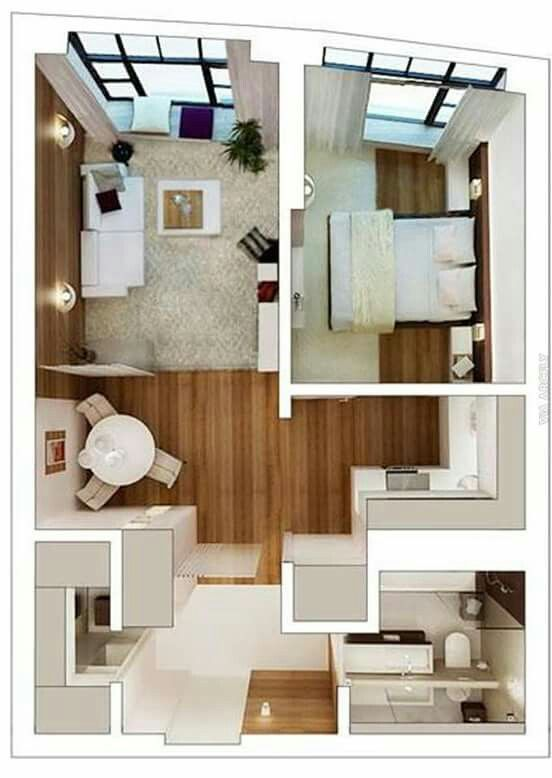 Pin by Emmy Jasmin on Sims | Pinterest | Apartment ideas, Smallest ...