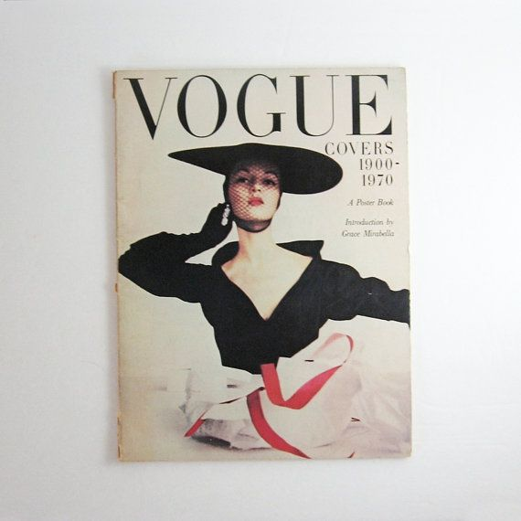 Your Place To Buy And Sell All Things Handmade Vogue Covers Vintage Vogue Covers Fashion Magazine Cover