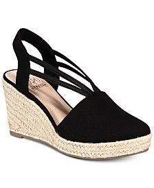 d741d0f2263 Mailena Wedge Espadrille Sandals, Created for Macy's in 2019 | Moda ...