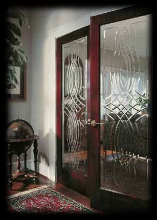 Interior Doors All Feature A Decorative Glass Full Lite Panel. Our Glass  Interior Doors Offer A Unique Replacement For Bedroom, Bathroom Or Home  Office ...