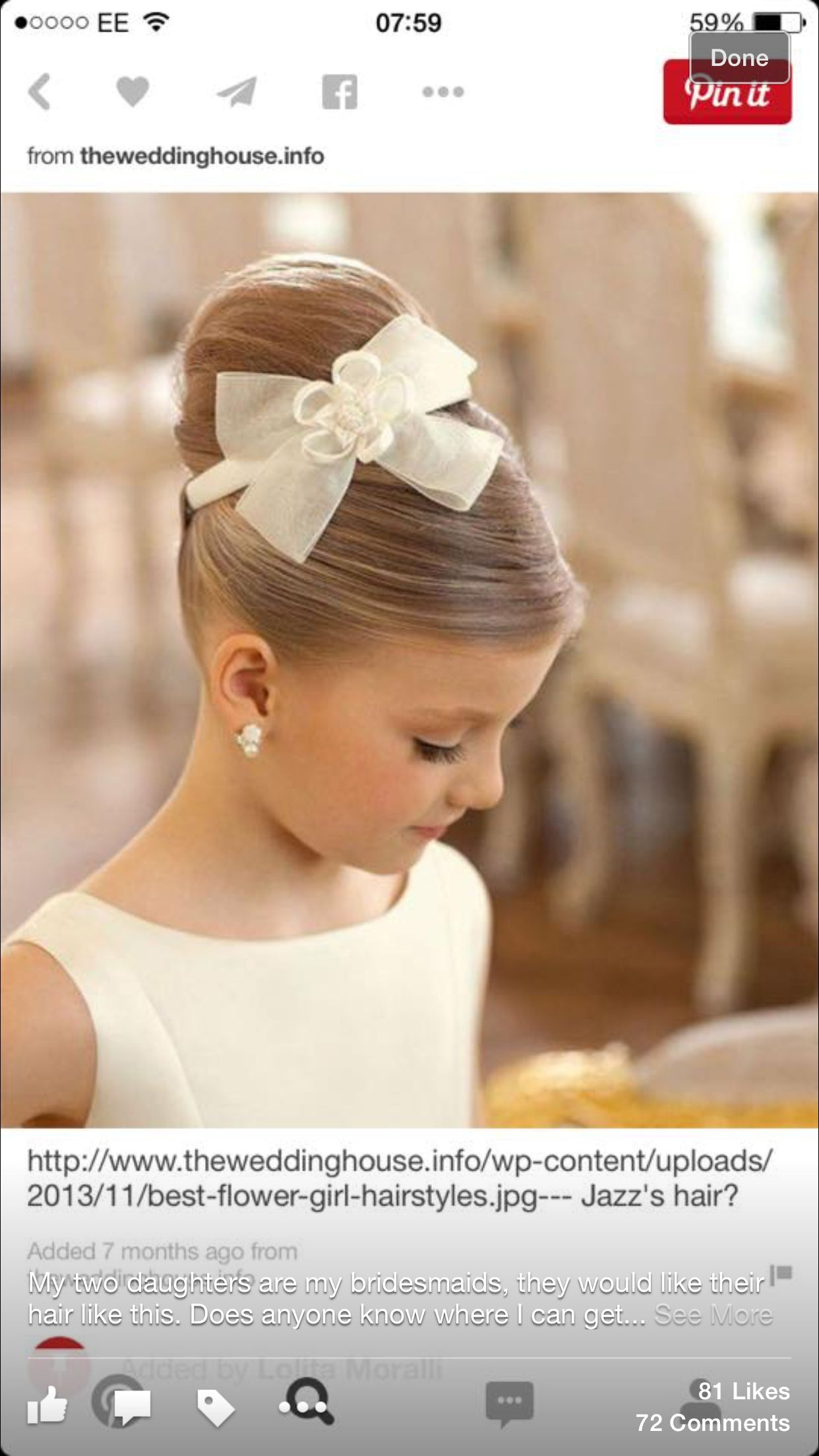 Cjs hair hochzeitsfrisuren pinterest hair style weddings and
