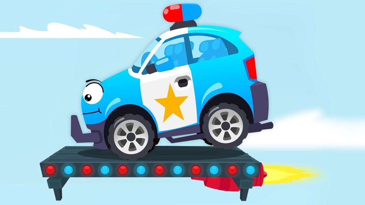Coche De Policia Y Carrera En La Ciudad Dibujo Animado Para Ninos Carros Infantiles Coche De Policia Y Carrera En La Ciudad Dibujo Animado Para Ninos Car