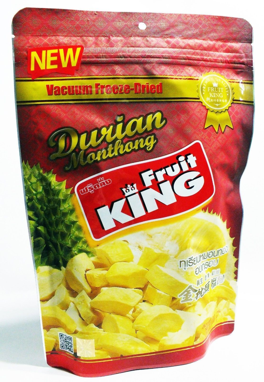 Fruit king durian monthong thailand snack natural healthy