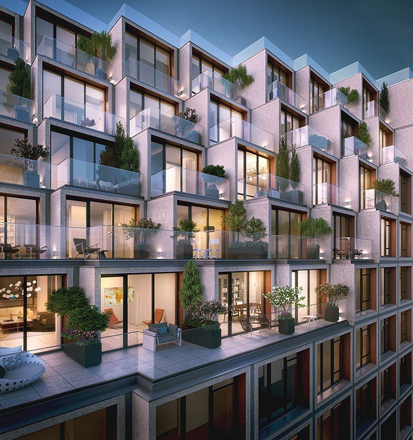 Oda Architecture Plans 251 First Residences In Brooklyn Facade Architecture Architecture Plan Apartment Architecture