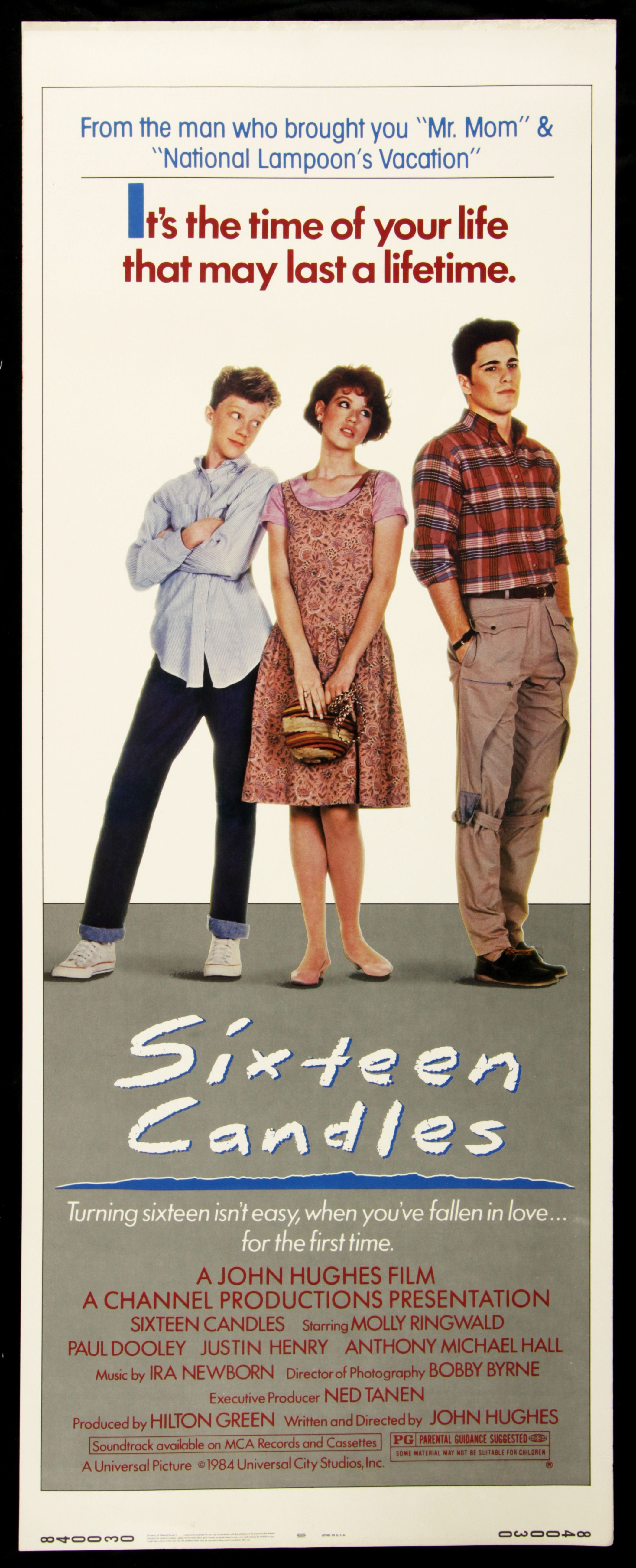 Sixteen Candles   Sixteen candles, Movie posters, Good movies