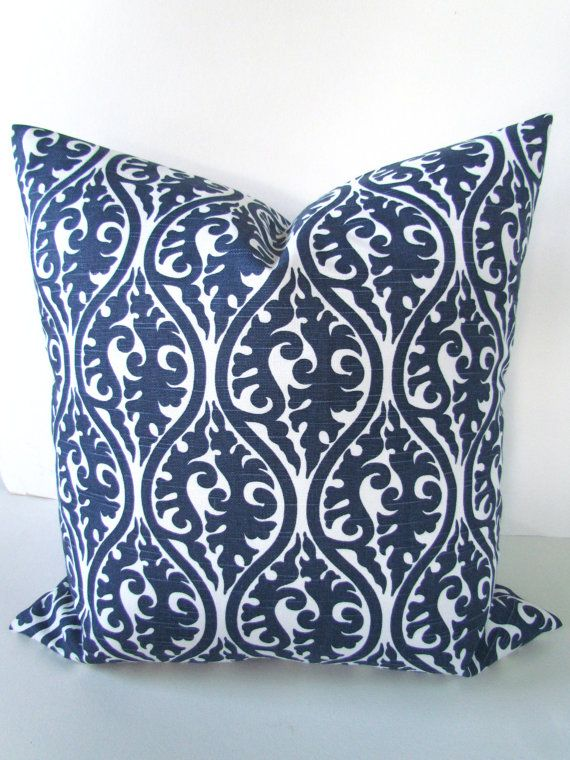Navy Blue Pillow Covers 20x20 Decorative Throw Pillows 20 X 20 Dark Blue Throw Pillow Covers Navy Blue Pillows Blue Throw Pillow Cover Dark Blue Throw Pillows
