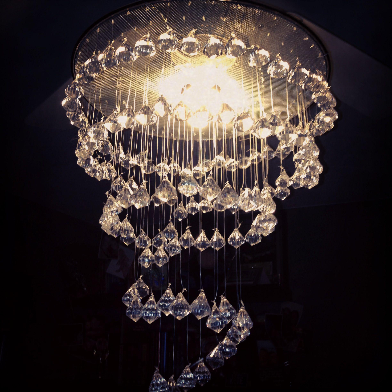 My home made chandelier sheet music wedding pinterest my home made chandelier arubaitofo Gallery