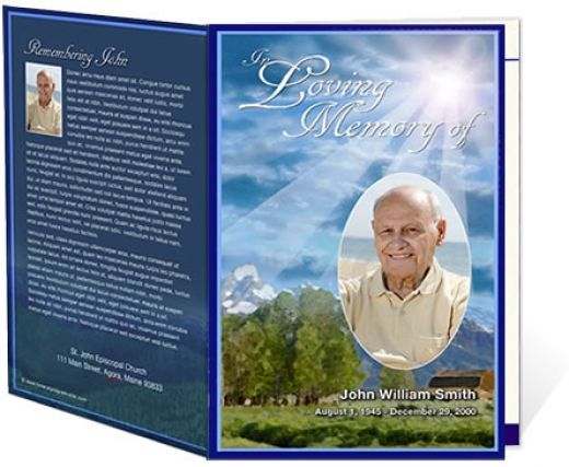 Free Sample Funeral Programs funeral programs minutes usingdec - free funeral program template