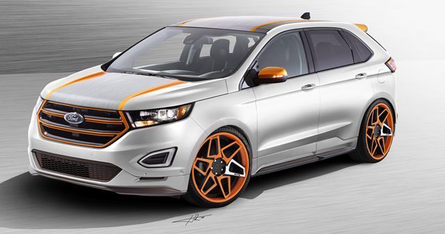 Award Winning Builders Take The New 2015 Ford Edge Sport To New