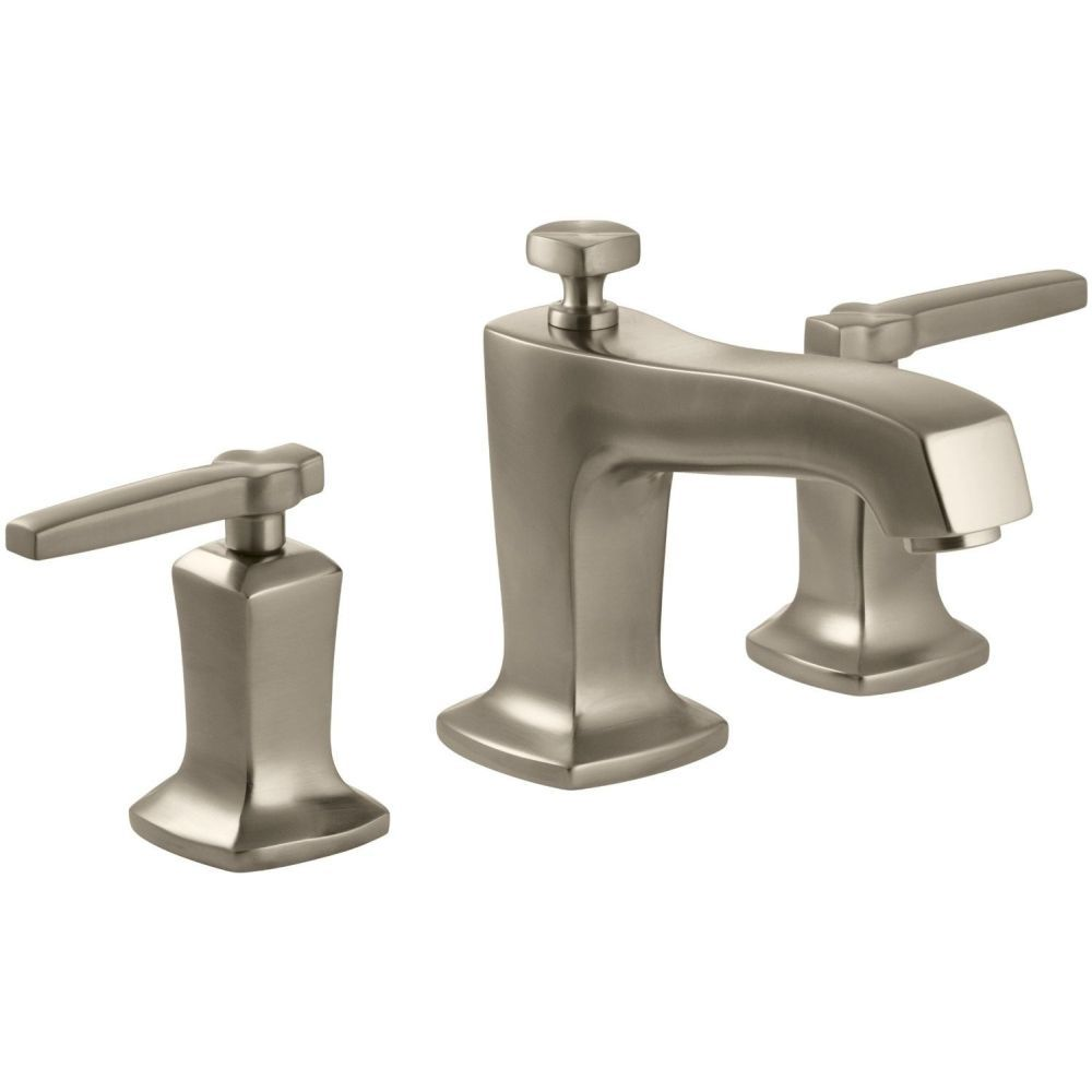 Kohler K 16232 4 BV Margaux Vibrant Brushed Bronze Two Handle Widespread  Bathroom