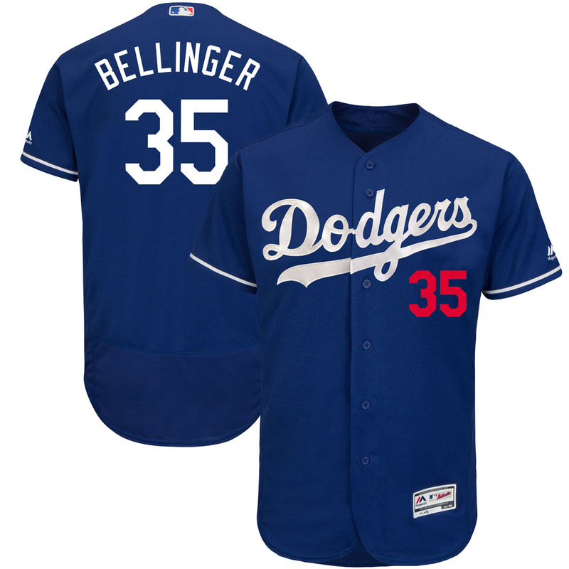 Cody Bellinger Los Angeles Dodgers Majestic Fashion Authentic Collection  Flex Base Player Jersey - Royal 5bd27238f4b