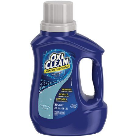 Oxiclean Liquid Laundry Detergent Sparkling Fresh Scent 45 Oz