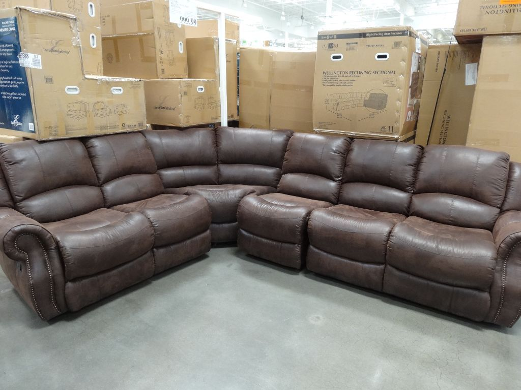 Costco Furniture Sofa Sectional Sofa Reclining Sectional Reclining Sofa