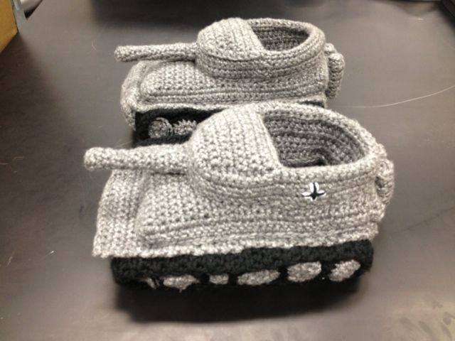Snip and Stitch: Tank (Slippers) are Rolling In | Crochet ...