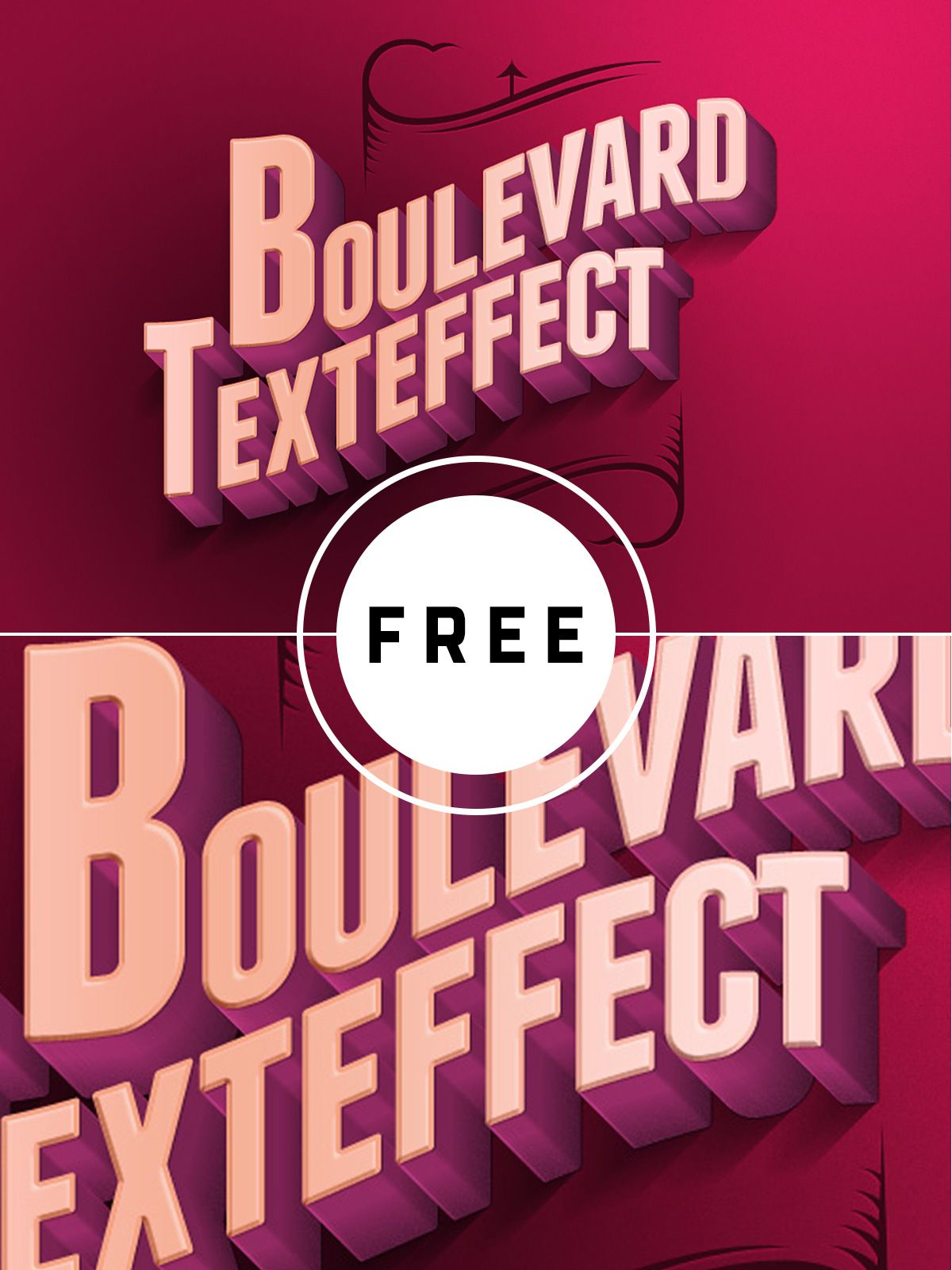 80 Free Smart Easy PSD Text Effects text