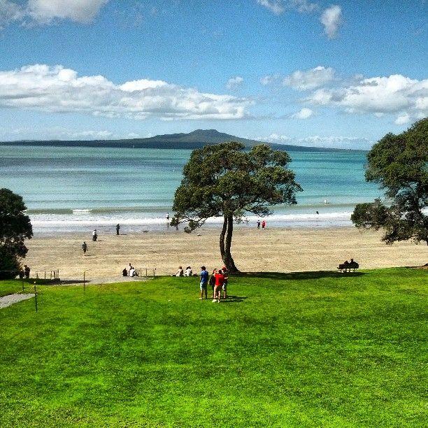 Takapuna Beach Auckland Newzealand Nz