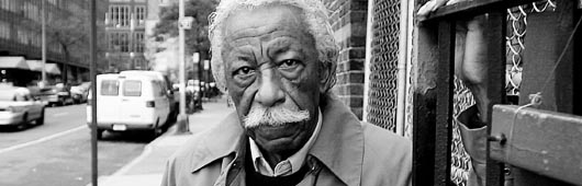 The man and the mustache: Gordon Parks