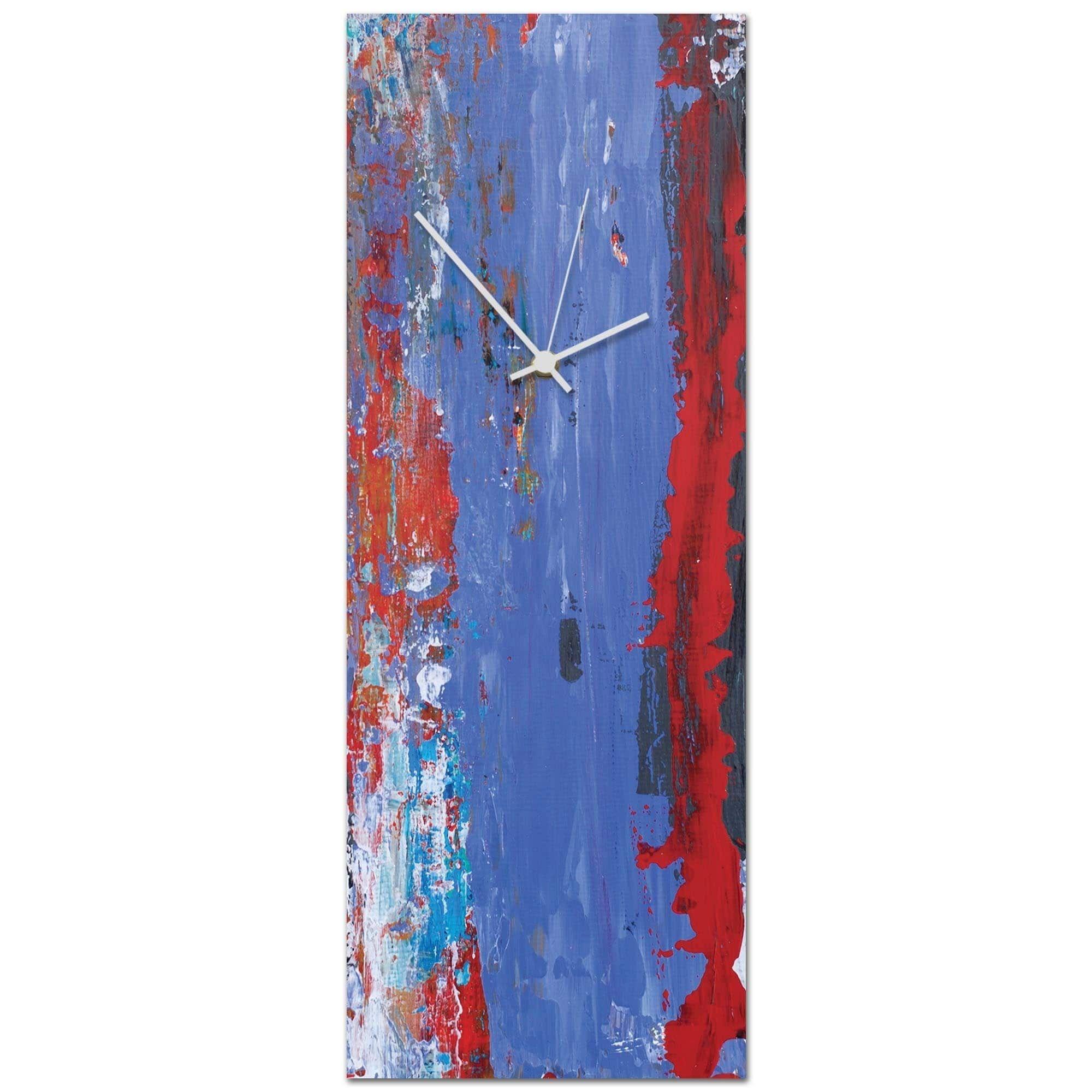 Celeste reiter uurban cool v clock largeu in x in modern wall