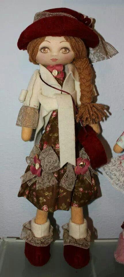 Mi muñeca de trapo handmade Lilly