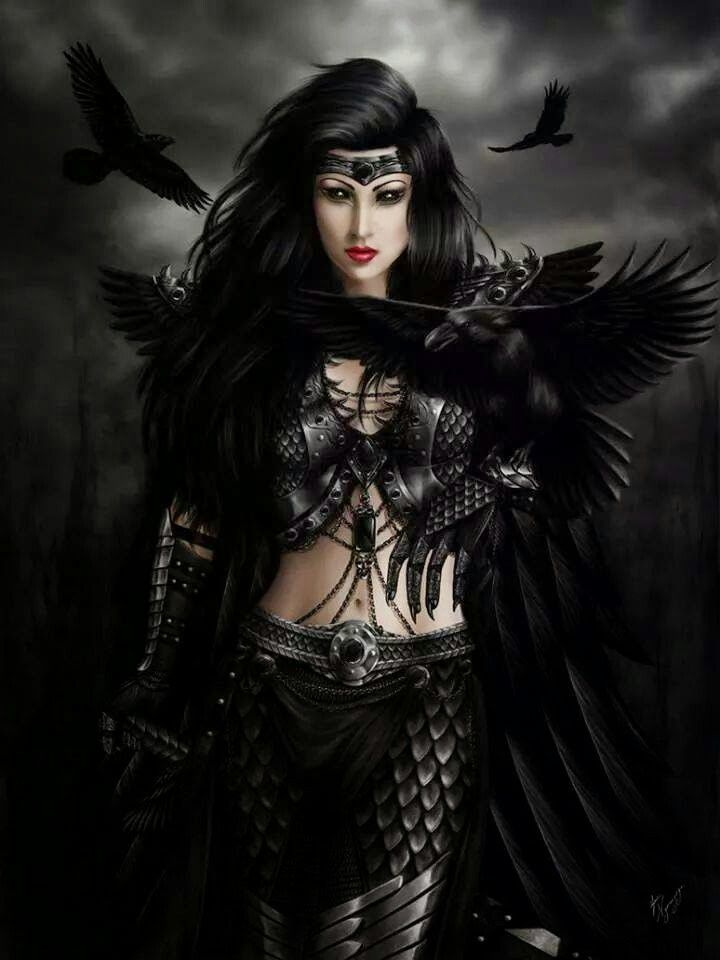 incredible mystic demonic queen outfit