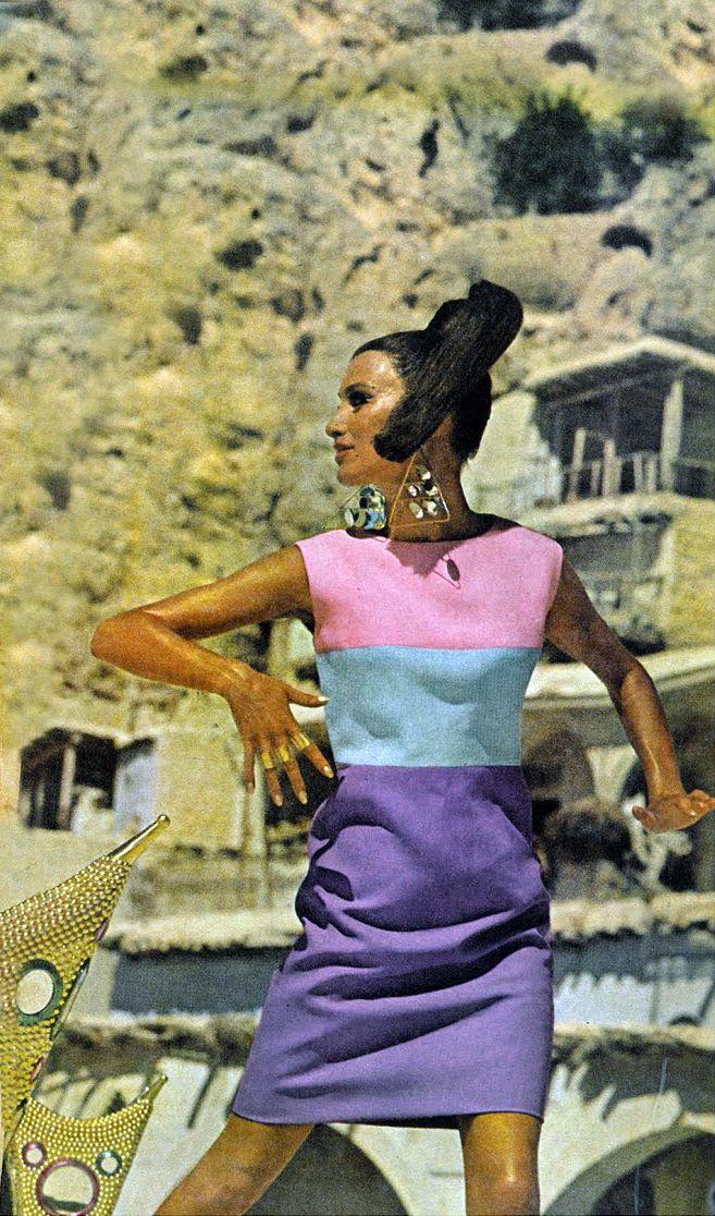Photo by Henry Clarke, Vogue 1966