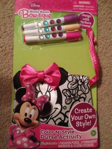 Minnie Mouse Coloring Purse Pictures