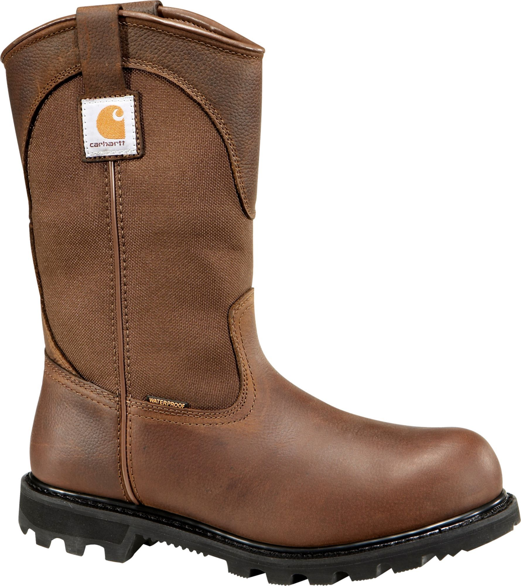 "6412bf8aa43 Carhartt Men's Wellington 11"" Waterproof Safety Toe Work Boots in ..."