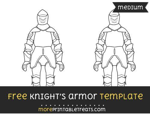 knight armor template