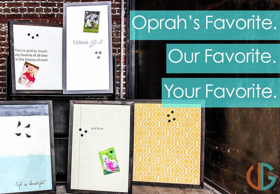 custom magnet boards picked as one of oprah s favorite things