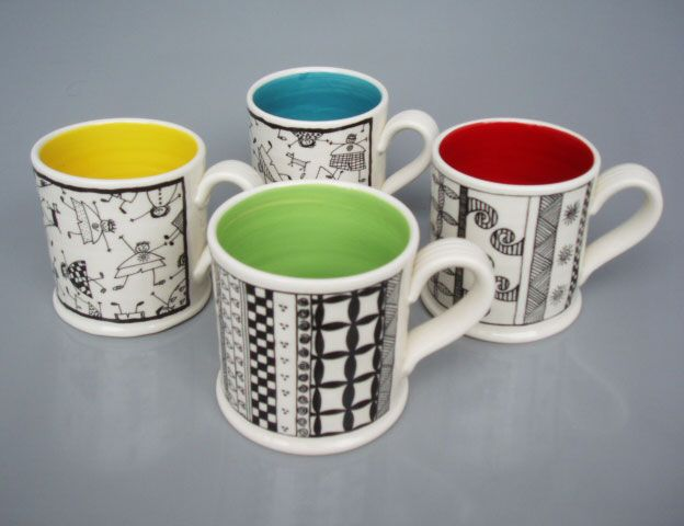Owen Bartlett South Street Gallery Nelson Potters Nelson New Zealand Pottery Supplies Ceramic Mugs Pottery