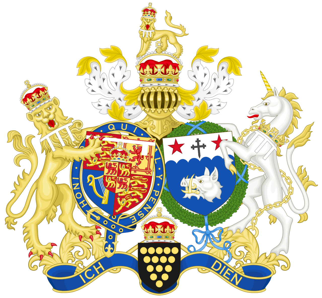 Coat of arms of the Prince of Wales